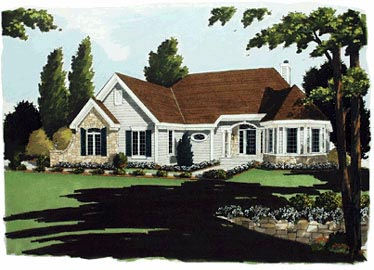 Bungalow Victorian House Plan 92688 Elevation