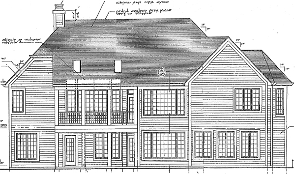 Bungalow Victorian House Plan 92688 Rear Elevation