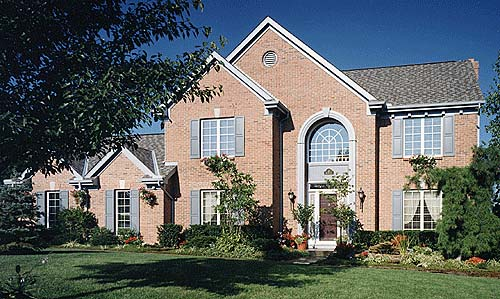 European House Plan 92692 with 4 Beds, 3 Baths, 2 Car Garage Picture 1