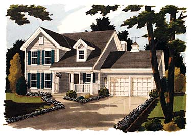 Country House Plan 92693 with 3 Beds, 3 Baths, 2 Car Garage Elevation
