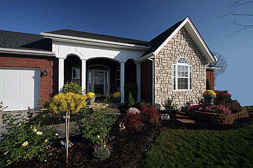 Country House Plan 92694 with 3 Beds, 2 Baths, 2 Car Garage Picture 2