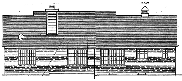 Country House Plan 92694 Rear Elevation