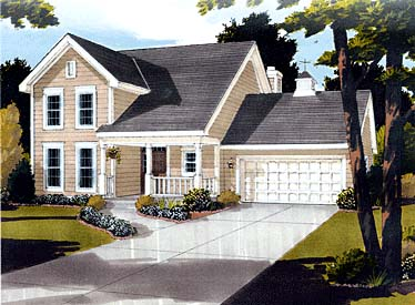 Country Farmhouse House Plan 92695 Elevation