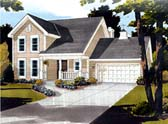Plan Number 92695 - 1704 Square Feet