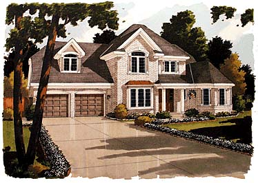 Colonial Country European House Plan 92696 Elevation