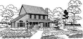 Plan Number 92808 - 1707 Square Feet