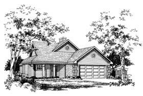 House Plan 93001