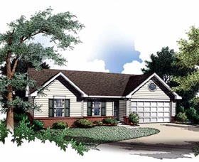 Plan Number 93018 - 1142 Square Feet