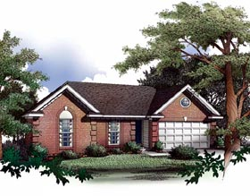 Plan Number 93019 - 1136 Square Feet