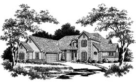 Traditional House Plan 93040 Elevation