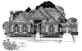 European , Victorian House Plan 93045 with 5 Beds, 5 Baths Elevation