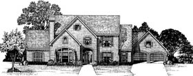 Colonial Country House Plan 93046 Elevation