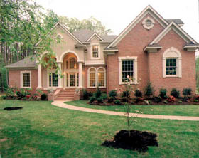 Country European House Plan 93089 Elevation