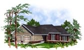 Plan Number 93100 - 1642 Square Feet