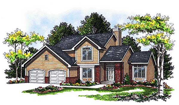 Country House Plan 93101 Elevation