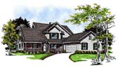 Plan Number 93106 - 2162 Square Feet