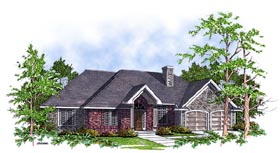 Plan Number 93107 - 1868 Square Feet