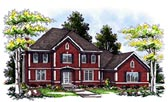 Plan Number 93111 - 3144 Square Feet