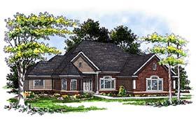 European Victorian House Plan 93113 Elevation