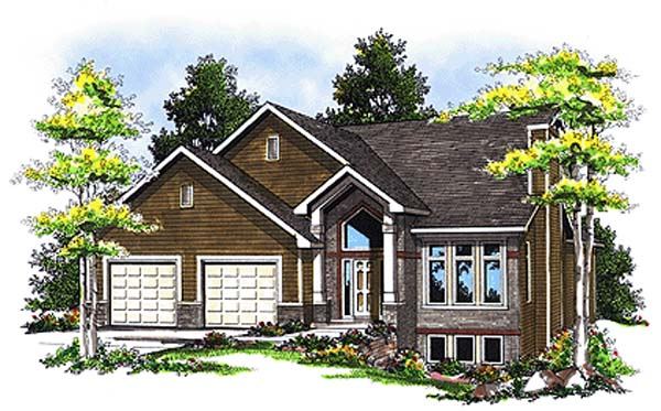 Country Traditional House Plan 93114 Elevation
