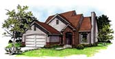 Plan Number 93121 - 1342 Square Feet