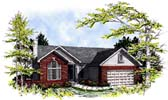 Plan Number 93126 - 1430 Square Feet