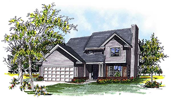 Country House Plan 93128 Elevation