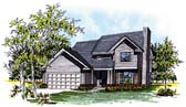 Plan Number 93128 - 1552 Square Feet