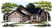 Plan Number 93131 - 1448 Square Feet