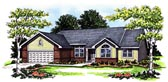 Plan Number 93132 - 1821 Square Feet