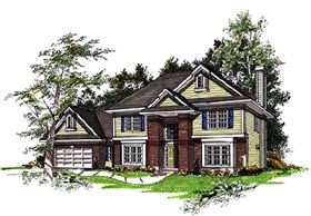 Country House Plan 93136 Elevation