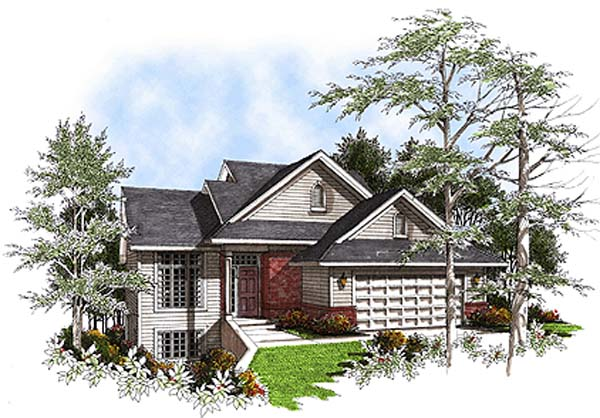 European Victorian House Plan 93138 Elevation