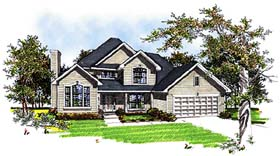 Plan Number 93148 - 2523 Square Feet