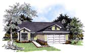 Plan Number 93150 - 1360 Square Feet