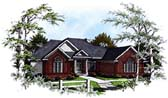 Plan Number 93158 - 2095 Square Feet