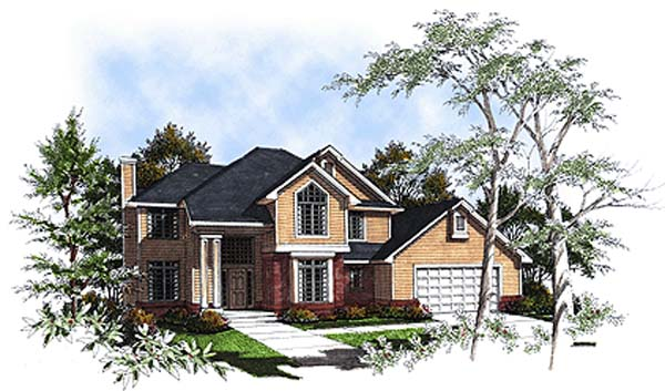 Country House Plan 93159 Elevation