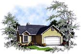 Plan Number 93160 - 1342 Square Feet