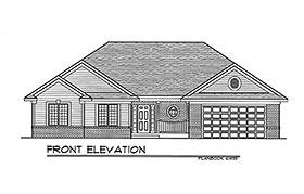 Plan Number 93161 - 1540 Square Feet