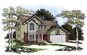 Country House Plan 93164 Elevation