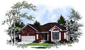 Plan Number 93168 - 1481 Square Feet