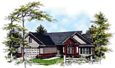 Plan Number 93171 - 1642 Square Feet
