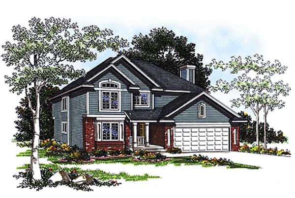Country House Plan 93174 Elevation