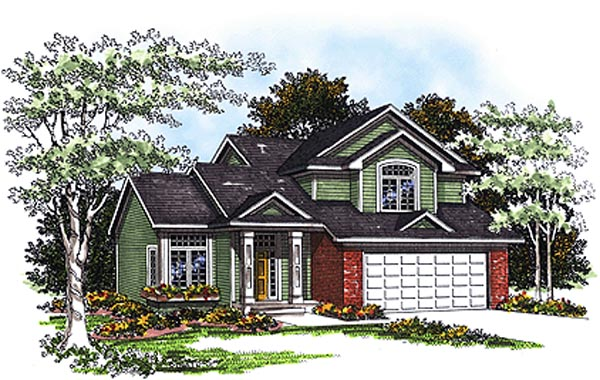 Country House Plan 93175 Elevation