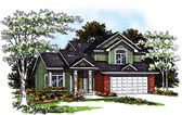 Plan Number 93175 - 1584 Square Feet