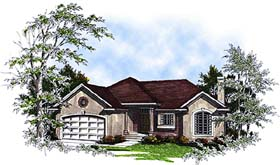Plan Number 93179 - 1618 Square Feet