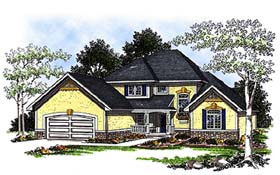Plan Number 93180 - 2712 Square Feet