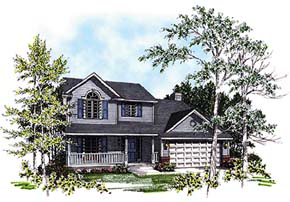 Country House Plan 93186 Elevation