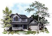 Plan Number 93186 - 1722 Square Feet