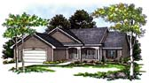 Plan Number 93195 - 1733 Square Feet
