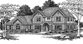 Plan Number 93196 - 3470 Square Feet